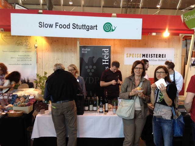 2014 Gemeinschaftsstand Stuttgart auf der Slow Food Messe