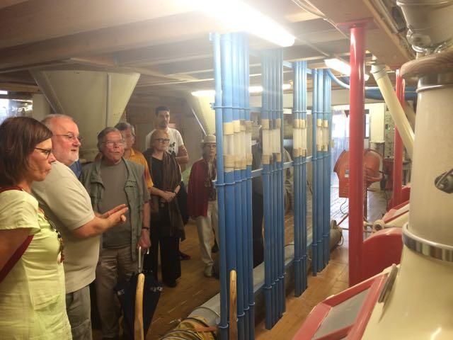 2014 Besuch in der Tonmühle Ditzingen