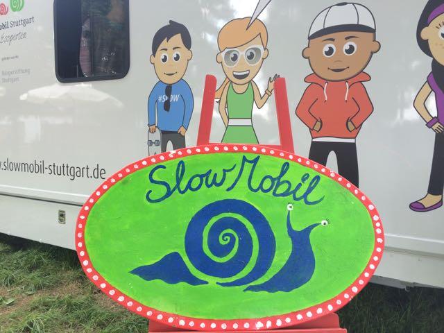 2015 Das Slow Mobil macht Station im Stutengarten