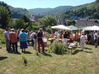 2013 Rebstockpatenfest an der Mosel
